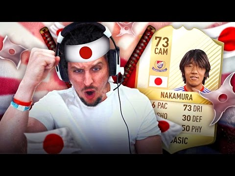 THE SMALLEST PLAYER IN FIFA HISTORY THE JAPANESE LEGEND LEAGUE SQUAD! FIFA 17 ULTIMATE TEAM