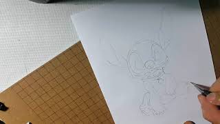 How to draw stitcker character _ by mr.T