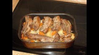 видео Свиные ребрышки с картошкой рецепты