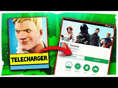 TÉLÉCHARGER FORTNITE sur ANDROID NON COMPATIBLE ! FORTNITE ANDROID 2019