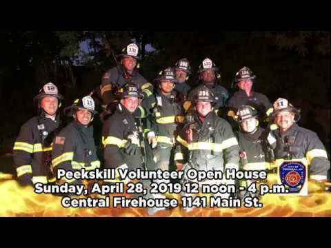 Peekskill Volunteer Fire Department Recruitment Open House 4/28/2019