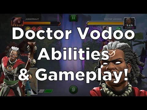 Doctor Voodoo - Abilities & Gameplay! - Marvel Contest of Champions