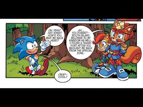Sonic The Hedgehog Issue #288
