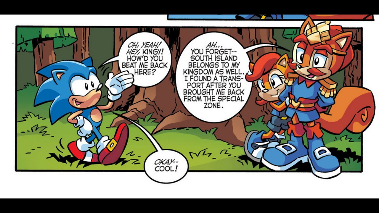 Sonic The Hedgehog Issue 288 Youtube