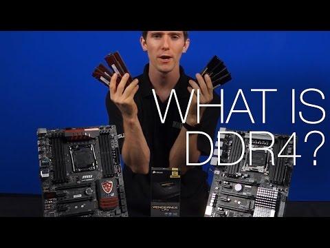 What is DDR4? with DDR3 Comparison ft. Corsair Vengeance LPX