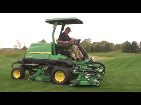 John Deere 9009A TerrainCut Rough Mower Operator Video