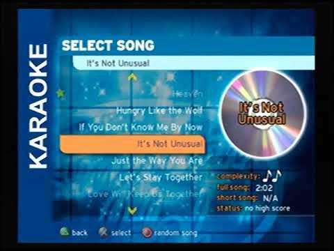 Karaoke Revolution Presents: American Idol (Full Song List)