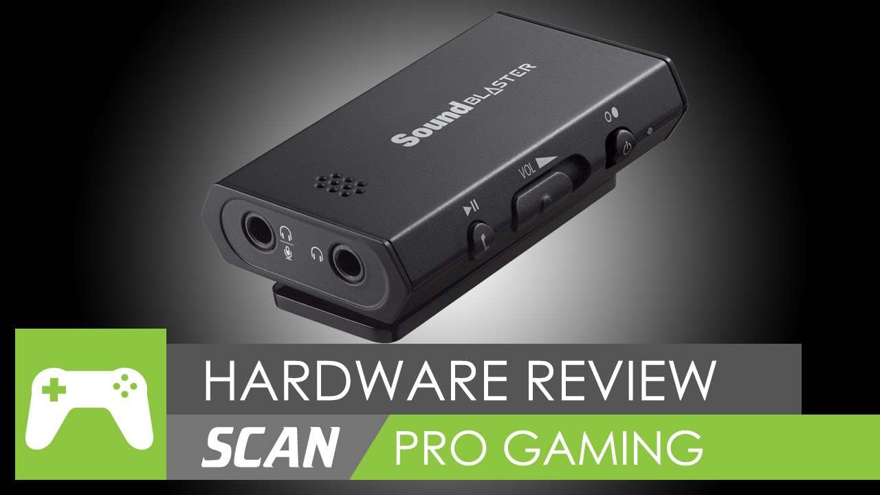 Sound Blaster E1 Review! - [Headphone Amp]