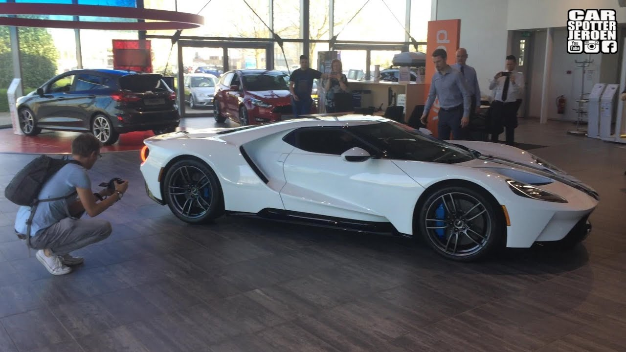 First Ford Gt My Delivery In The Netherlands