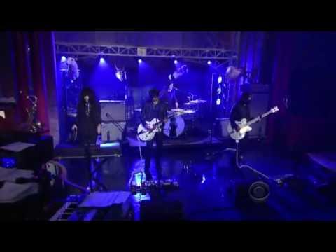 Blue Blood Blues, The Dead Weather (great sound) @ Letterman