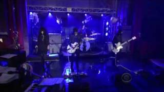 Blue Blood Blues, The Dead Weather (great sound) @ Letterman