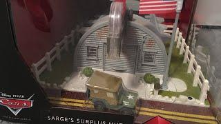 Disney Cars Precious Series Sarge's Surplus Hut review