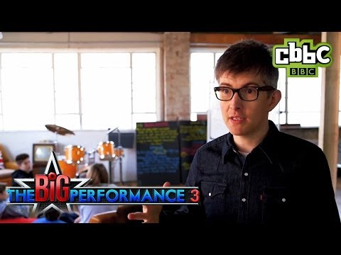 CBBC: The Big Performance - Writing a song