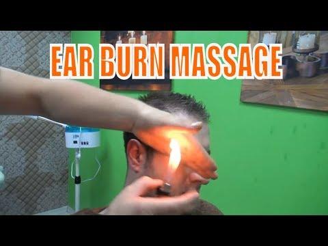 ASMR TURKISH BARBER MASSAGE💈EAR BURN💈NECK,EAR CRACK💈head,arm,back,ear,face,rolle