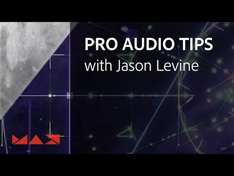 How To Edit Audio In Premiere Pro With Jason Levine | Adobe Creative Cloud
