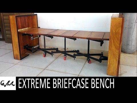 Extreme folding bench (briefcase 2)