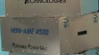 HEPA-AIRE® H4500 Portable Power Vac from Abatement Technologies®