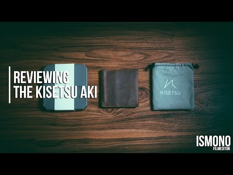 A slim wallet for cards, bills AND coins? Reviewing the Kisetsu Aki Bifold wallet