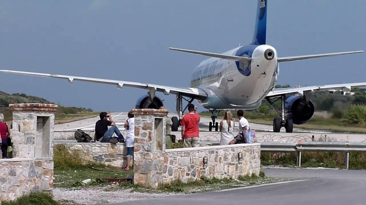 Aeroporto Skiathos : Jsi lgsk alexandros papadiamantis airport skiathos