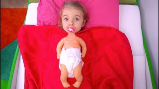 Anabella s a transformat in bebelus !!! #2