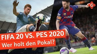 FIFA 20 vs. PES 2020: Wer holt den Pokal? | Special