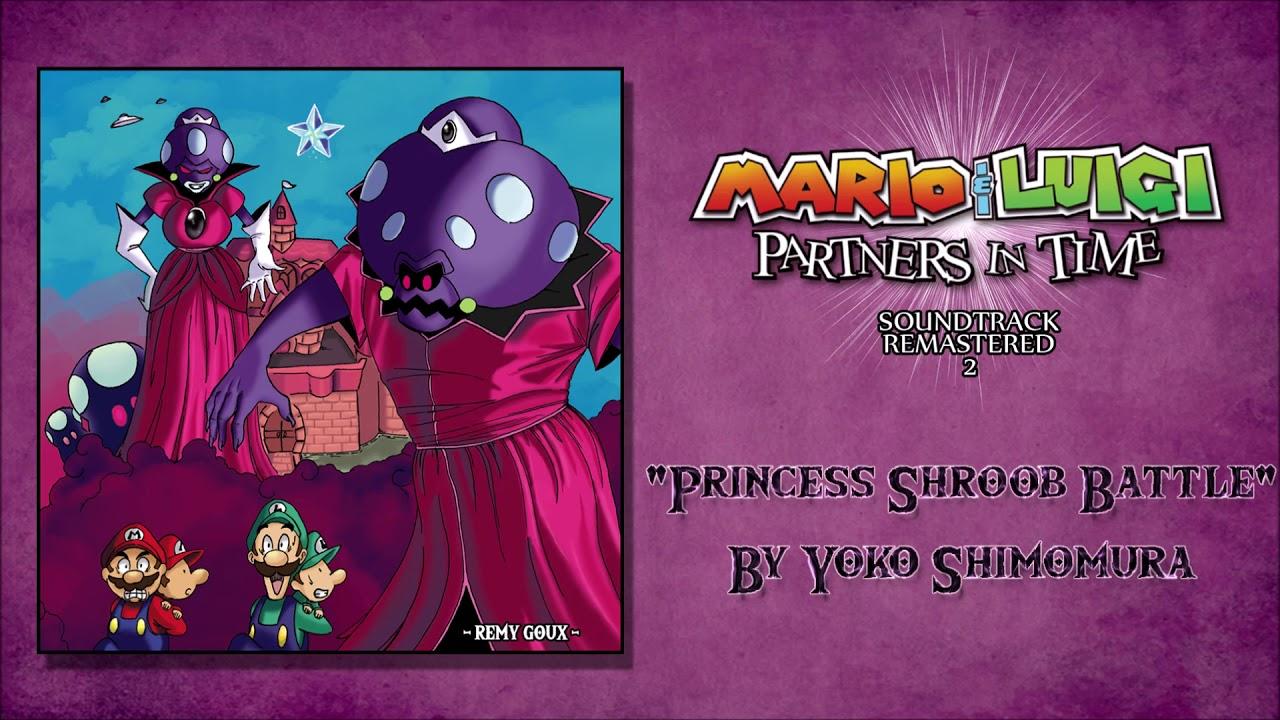 Princess Shroob Battle Mario Luigi Partners In Time Soundtrack Remastered 2