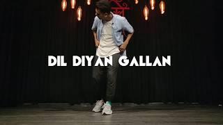 Dil Diyan gallan | Atif Aslam | Mukesh Gupta Dance Choreography
