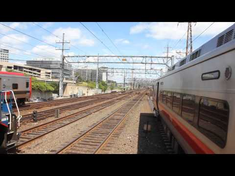 MUST SEE! Amtrak Viewliner II Test Train @ Stamford with full house
