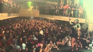 DJ SABRINA BOING BOING abertura set Bleep Curitiba PR 29/01/12 #1
