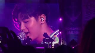 "[Fancam] Kang Min Hyuk sing Thai song ""รักเธอ"" #2018KMHFanmeeting inBKK 2018.02.24"