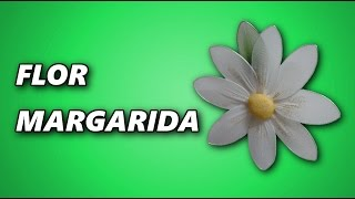 Como fazer flor margarida – Enfeite de Geladeira – LourdesArtes