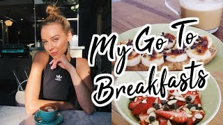 HEALTHY BREAKFAST IDEAS | Quick , Easy , Delicious , Sweet Tooth