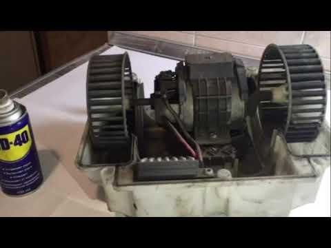 Моторчик печки мерседес W221