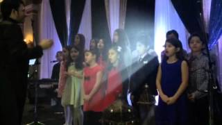 O Canada-National Anthem by Nawras Nader and the arabic canadian Kids