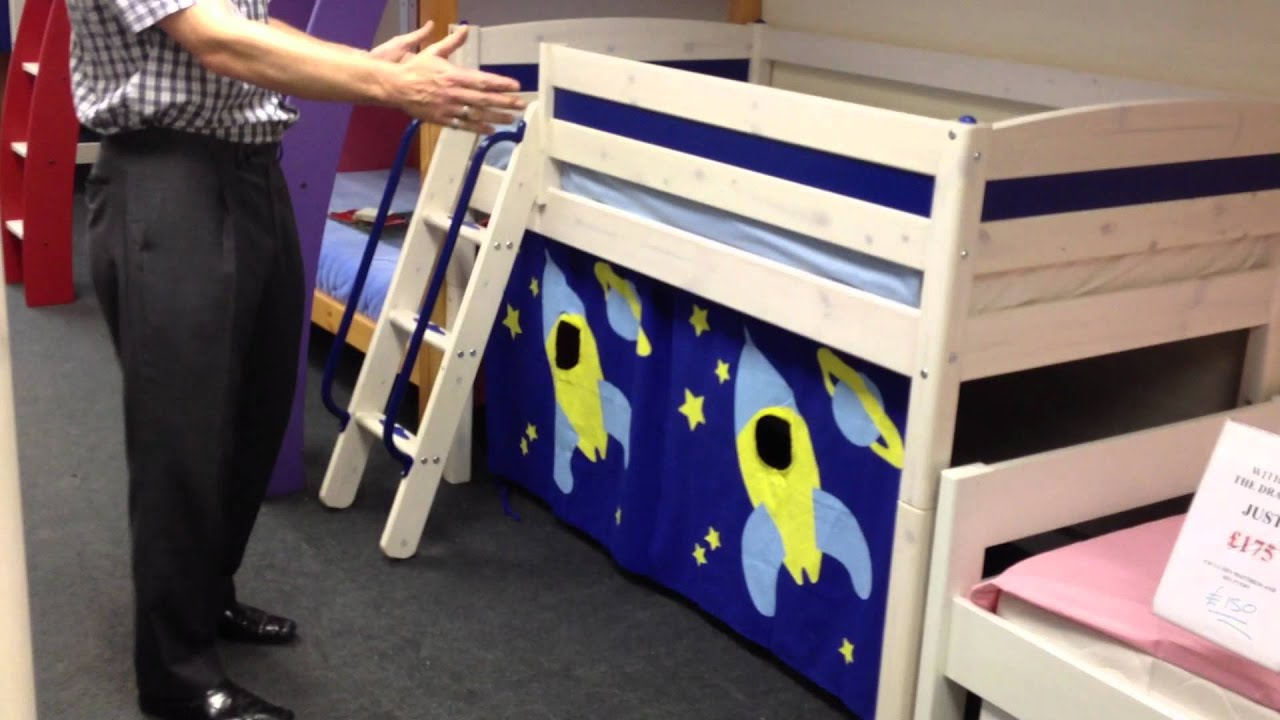 Thuka Excellent Trendy Shorty Mid Sleeper Bed With