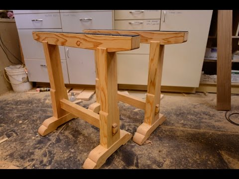 woodworking,-building-boss-saw-horses,-how-to