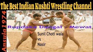 Nasir Qureshi Vs Sunil Chotiwala: नासिर कुरैशी और सुनील चोटीवाला के बीच हुई घमासान कुश्ती