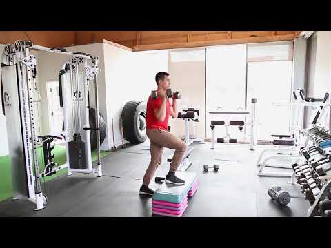 How To Do The Dumbbell Step Up & Variations