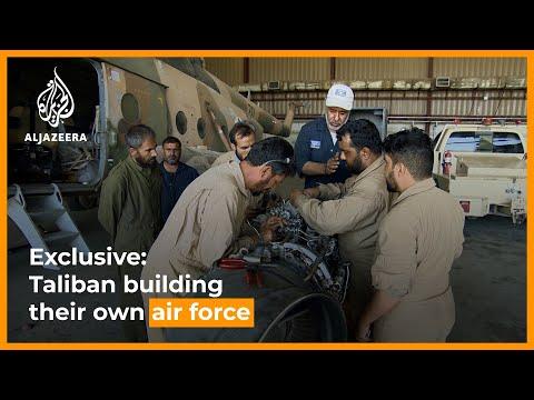 Exclusive: Taliban refurbishing equipment to build their own air force |. AL Jazeera Newsfeed