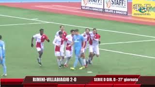Serie D Girone D Rimini-Villabiagio 2-0 (Icaro Sport)