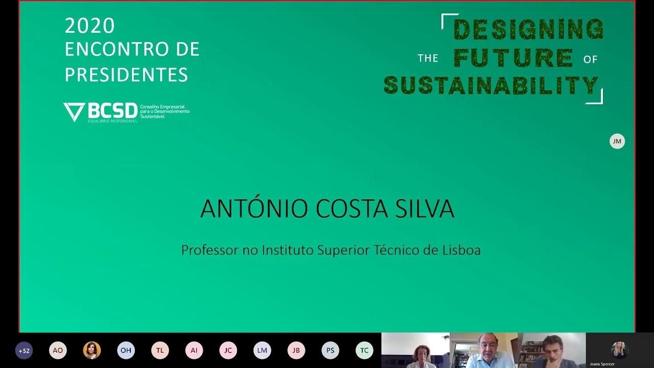 Encontro De Presidentes Bcsd Portugal 2020 Antonio Costa Silva Youtube