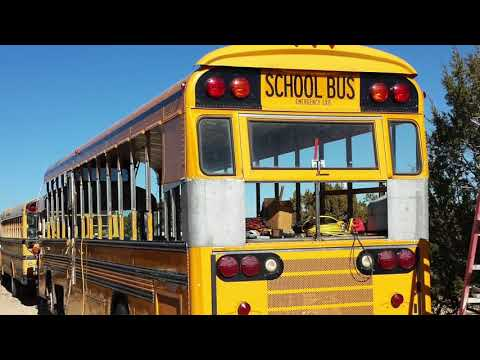 School Bus Conversion to Motor Home #58 Overview of Project  (PART TWO))