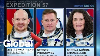 Soyuz and Expedition 57 crew return to Earth landing in Kazakhstan