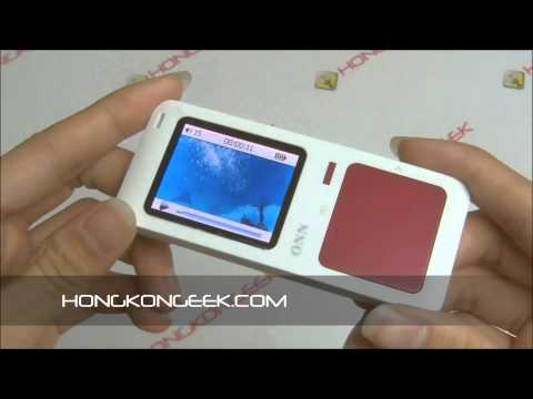 - UNBOXING AND TEST - ONN 4GB MP3 MP4 PLAYER Q7