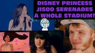 Jisoo - Yuki No Hana / Snow Flower Live In Osaka  Couple Reaction!  | Jisoo Is A Disney Princess