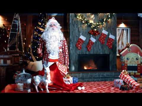 Новогоднее поздравление для Валентины от Дедушки Мороза
