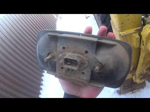 Экскаватор погрузчик New holland b115 проблема с проводкой.