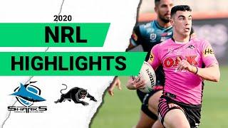 Sharks v Panthers   Round 9 2020   Telstra Premiership   NRL