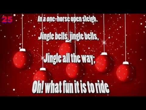 Jingle Bells Song - Lyrics & Music Karaoke - Christmas Carols
