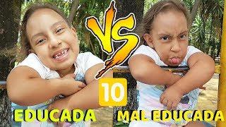 Criança educada VS Mal educada #10 - MC Divertida